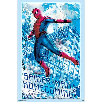 Spider-Man Homecoming - Swing-Plakat-Druck