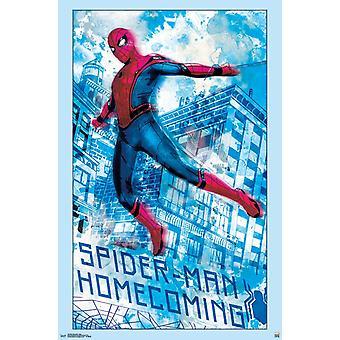 Spider-Man Homecoming - Swing-Plakat-Druck