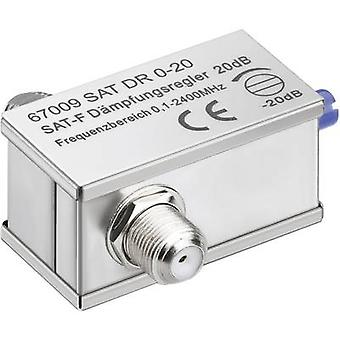 Adjustable attenuator Goobay SAT DG 0-20