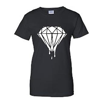 Juniors en direct la vie de diamant ; « Diamant » imprimer T-shirt