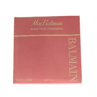 Balmain 'Miss Balmain' Dusting Powder 5.5oz/155g New In BOx