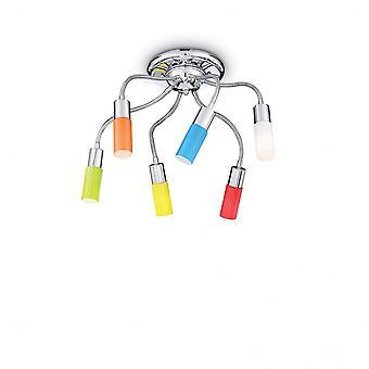 Ideal Lux Ecoflex Retro barnens sovrum Semi infälld taklampa