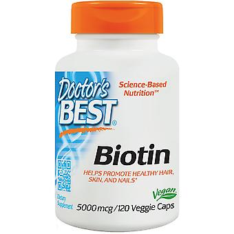 Doctor's Best Biotin 5000 mcg 120 vcaps (Vitamins & supplements , Special supplements)