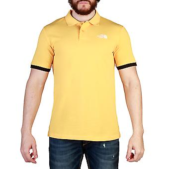 The North Face Men Polo Yellow