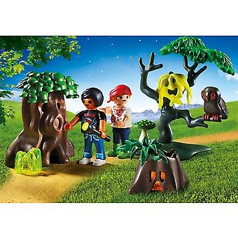 A pie de noche de verano de Playmobil
