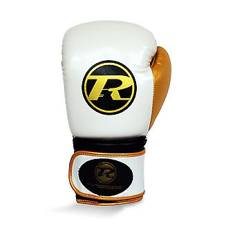 Am Ring Pro Fitness Boxhandschuhe weiss