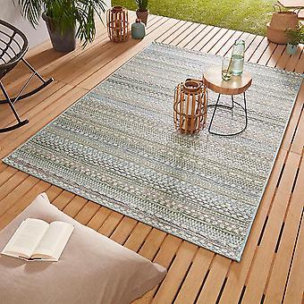 Ontwerp Outdoorteppich Web tapijt vlak geweven | Pine pastel mix