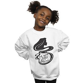 Disney Girls Tangled Rapunzel Silhouette Sweatshirt