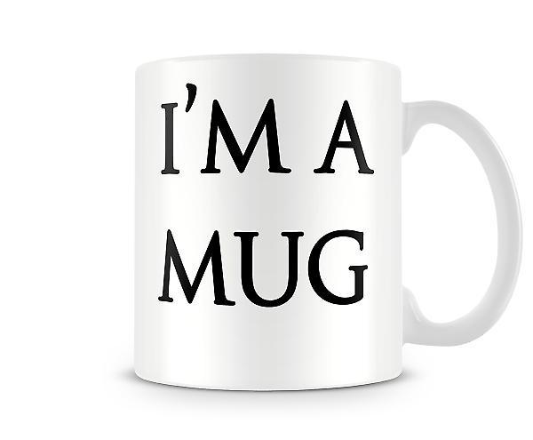 Im une tasse imprimés tasse