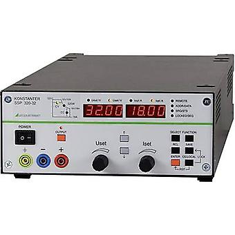 Gossen Metrawatt SSP 320-32 Bench PSU (adjustable voltage) 0 - 32 Vdc 0 - 18 A 320 W RS232 programmable No. of outputs 1 x