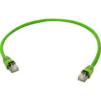 RJ45 Networks Cable CAT 5 SF/UTP 1 m Yellow-green Telegärtner