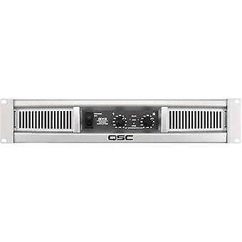 QSC GX 3 PA amplifier RMS power per channel (at 4 Ohm): 425 W