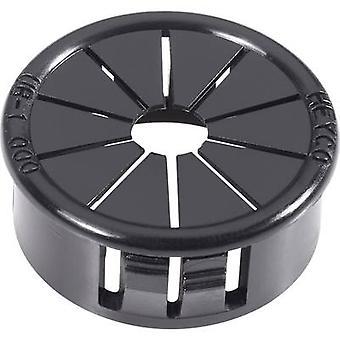 PB Fastener AF1000 Cable grommet Terminal Ø (max.) 19 mm Polyamide Black 1 pc(s)