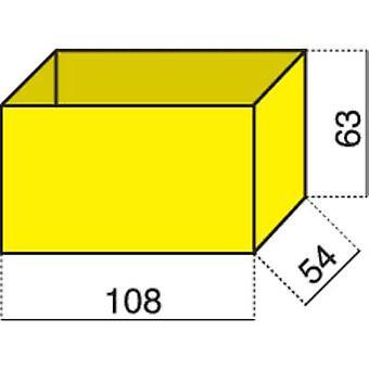 Hünersdorff Assortment case insert (L x W x H) 108 x 54 x 63 mm No. of compartments: 1