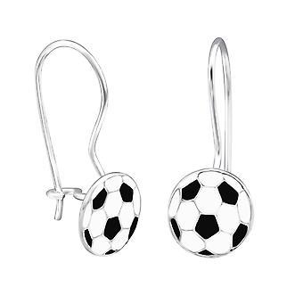 Football - 925 Sterling Silver Earrings - W28654x