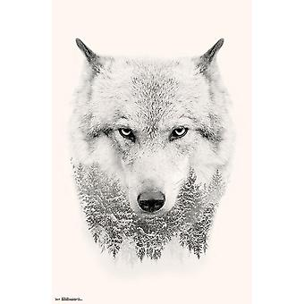 Wolf posters trees