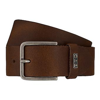 Jeans ceintures de hommes ceintures en cuir TOM TAILOR ceinture ceinture marron 7602