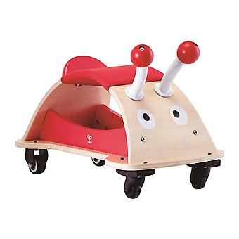 Hape-Bug About-Wooden walking car-Red