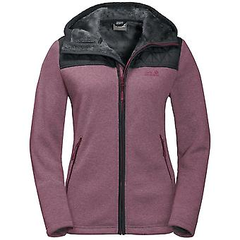Jack Wolfskin Women's Pacific Jacket Sky Fleece Waterproof ?lothing