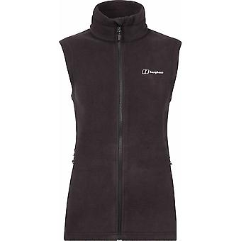 BERGHAUS WOMENS PRISM POLARTEC INTERACTIVE FLEECE VEST BLACK/BLACK