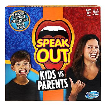 Speak Out Kids vs Parents Game With Mouthpieces