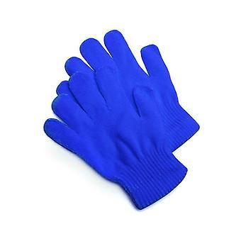 Handsker strikkede handsker blå