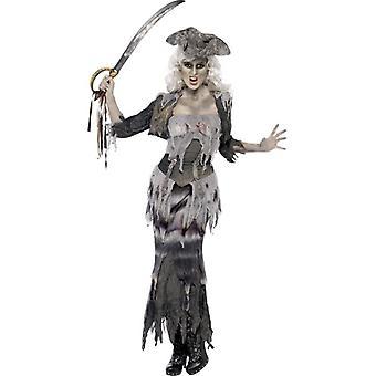 Ghost Ship Ghoulina Costume, UK Dress 20-22