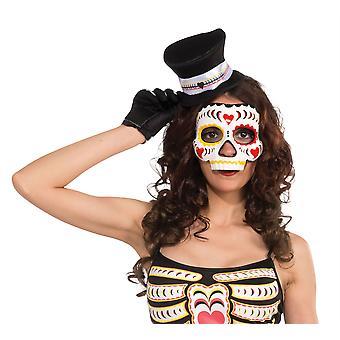 Tag der Dead Eye Plankton Maske weiblichen auf elastischen