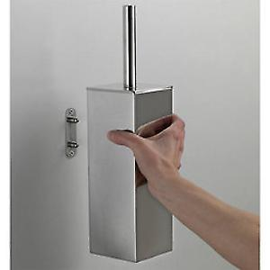Gedy Nemesia WC Brush Set Wall Mounted NE33 03 13