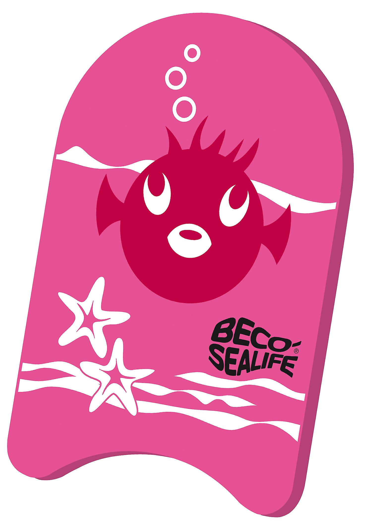 BECO Sealife Junior Kickboard - rosa