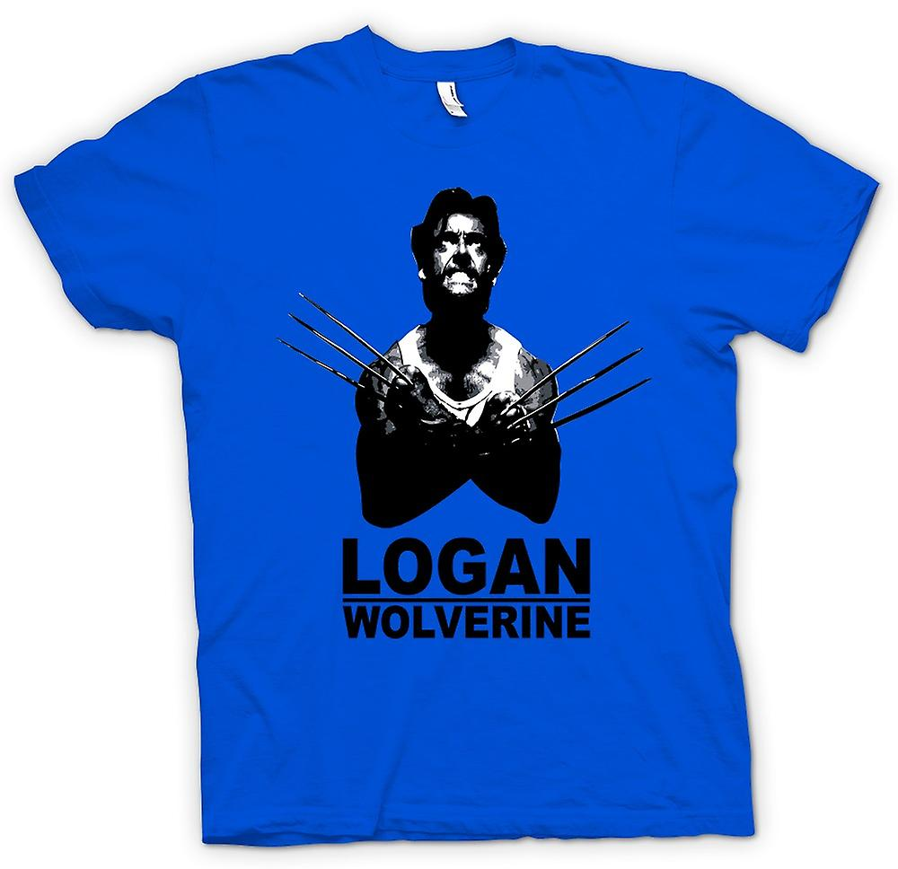 Mens T-shirt - Logan Wolverine - X - Men - Comics