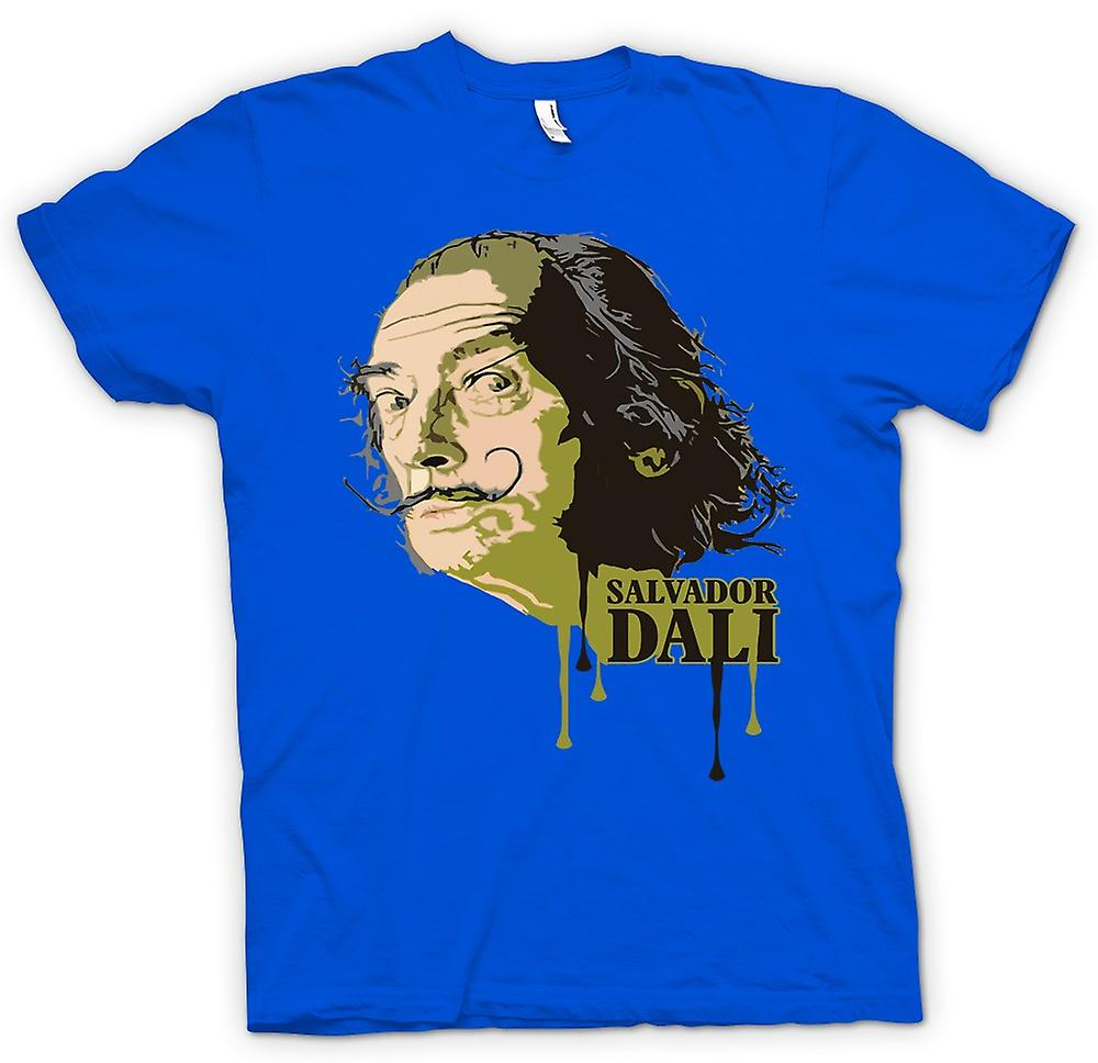 Mens T-shirt - Salvador Dali - Surreal - Konstnär