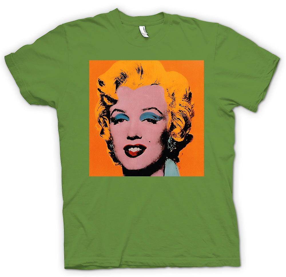 Hommes T-shirt - Marilyn Monroe - Warhol - Esq - Pop Art