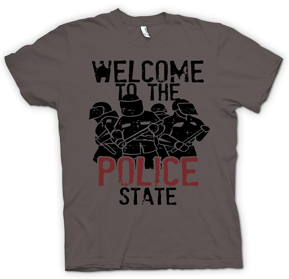 Womens T-shirt - Welcome To The Police State