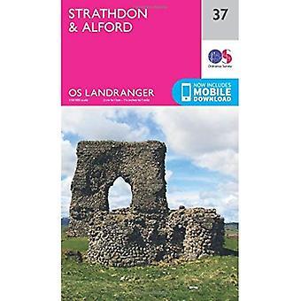 Landranger (37) Strathdon & Alford (OS Landranger Map)