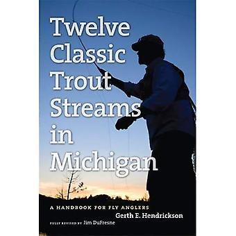 Guía del pescador de doce arroyos de truchas clásico en Michigan