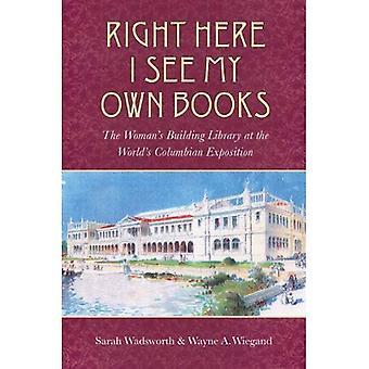Gerade sehe hier ich meine eigenen Bücher