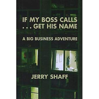 If My Boss Calls-- Get His Name: A Big Business Adventure