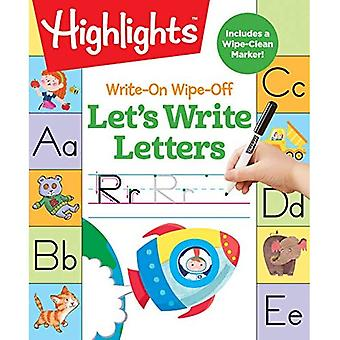 Let's Write Letters (Write-On Wipe-Off)