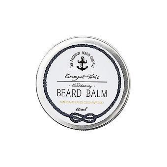 The Brighton Beard Company Creampot Tom's Beard Balm - Mandarin and Cedarwood - 60ml