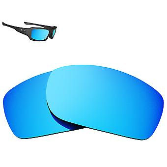 FIVES SQUARED Replacement Lenses Blue Mirror by SEEK fits OAKLEY Sunglasses
