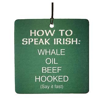 How To Speak Irish Car Air Freshener