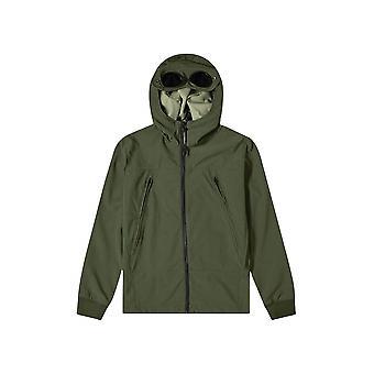 C.P. Company Undersixteen C.P. Company Undersixteen Khaki Soft Shell Goggle Jacket