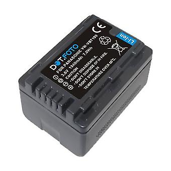 Dot.Foto Panasonic VW-VBT190 Replacement Battery - 3.6v / 1940mAh [See Description for Compatibility]