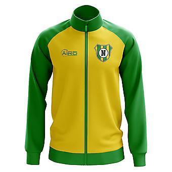 Норвич концепция Футбол трек куртка (желтый)