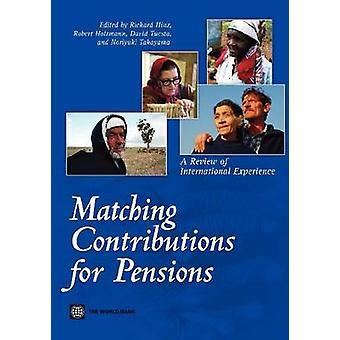 Overeenkomende bijdragen voor pensioenen een herziening van de internationale ervaring door Cheshunt & Richard