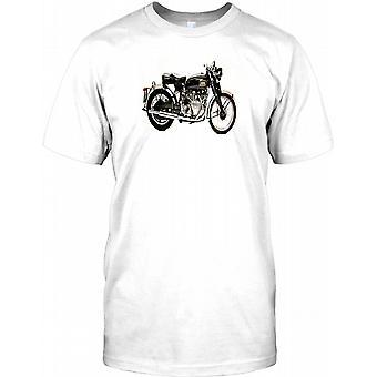 HRD Classic British Motorbike Kids T Shirt