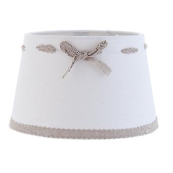 Romantic lamp shade white Clayre & EEF 25X16cm / E27