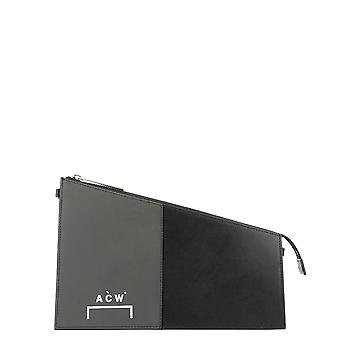A Cold Wall Black Leather Clutch