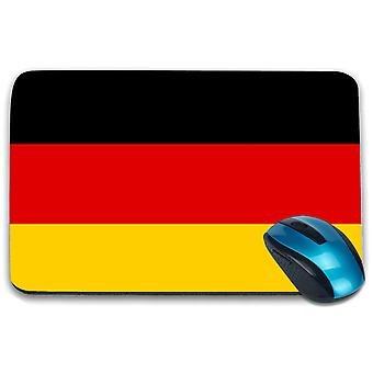 i-Tronixs - Germany Flag Printed Design Non-Slip Rectangular Mouse Mat for Office / Home / Gaming - 0065